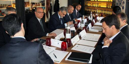 Sala de reuniones en Barcelona_ reunion de empresa