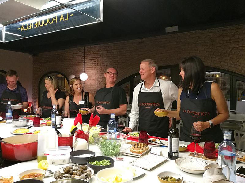 Spanish Cooking Class - Taller Cocina Española Tapas y Paella