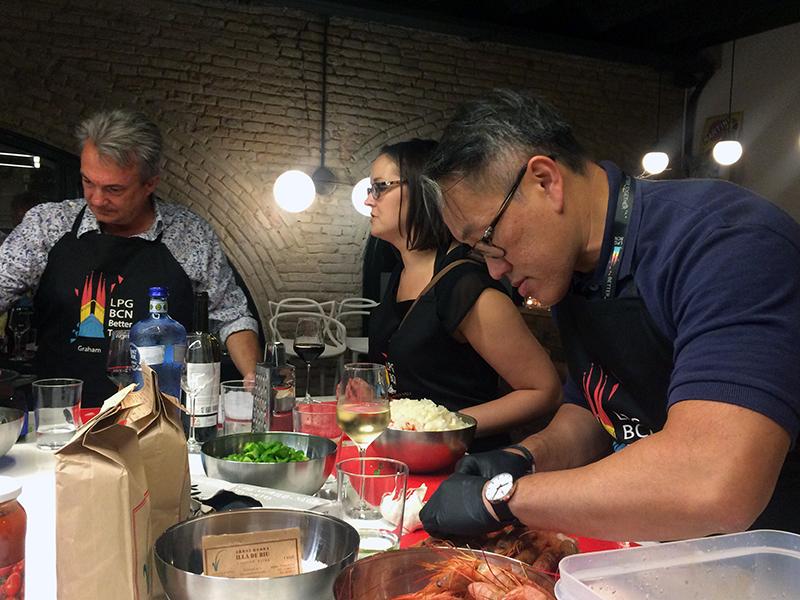 Taller de Cocina en equipo
