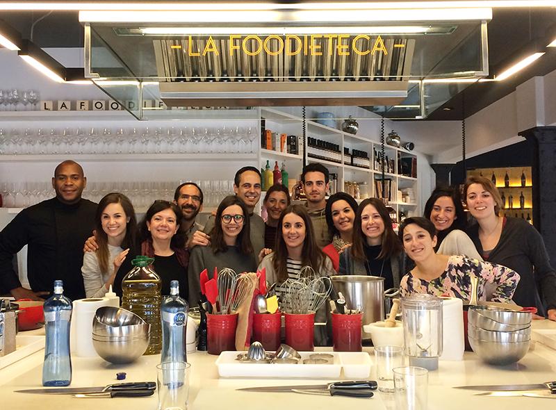 Talleres de cocina para grupos en Barcelona