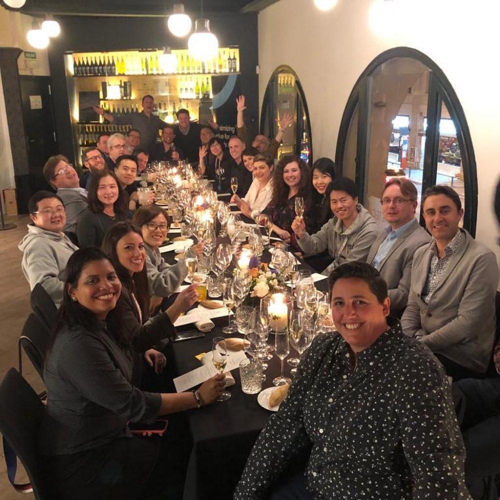 Cena con los Hermanos Torres MWC 2019